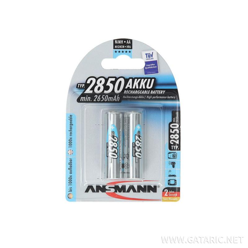 Rechargable batteries LR06 2850mAh