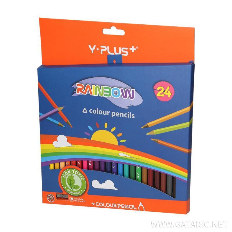 Drvene bojice sa oštrilom ''Rainbow''