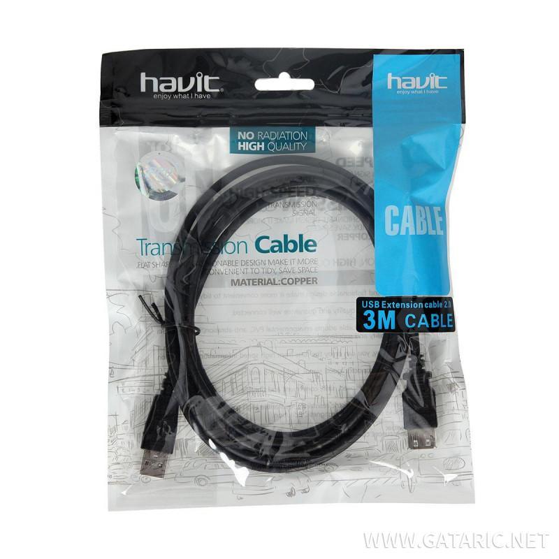 USB Produžni Kabal, 3m