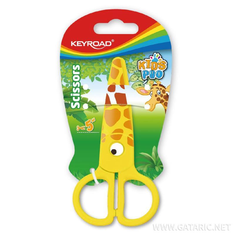 Makaze za decu ''Kids Pro Giraffe'', 13cm