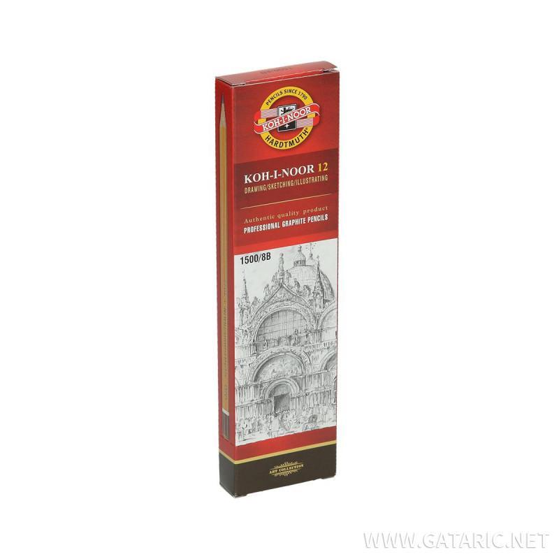 Drvena olovka 8B