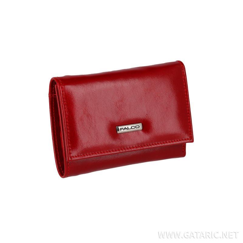 Falco kožni novčanik, crveni