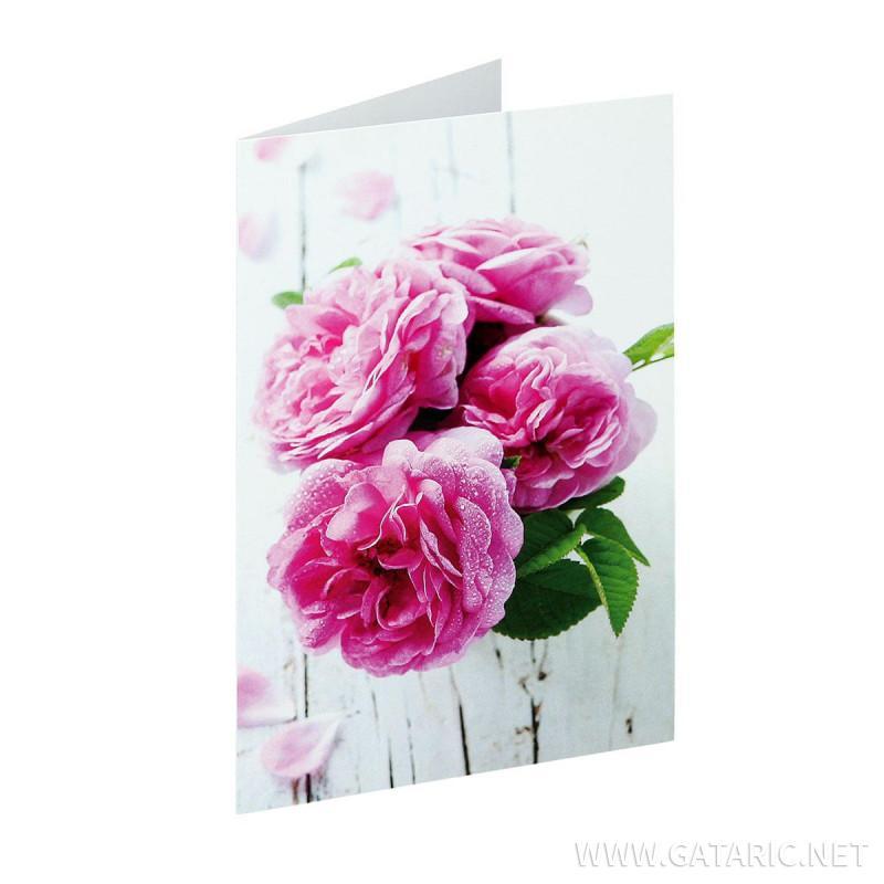 Čestitka ''Classic Flower 04''