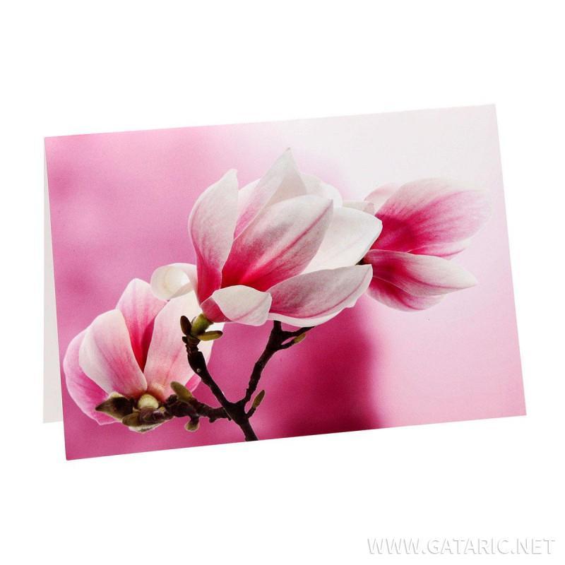 Čestitka ''Classic Flower 02''